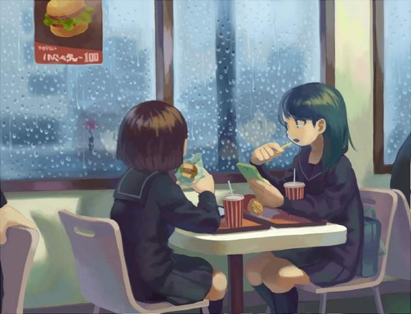 【前菜】女子がイモ食ってる二次画像【37】