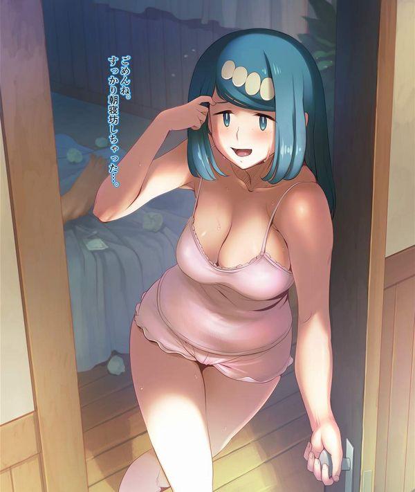 【見るからに性欲強そう】ポケモンシリーズに登場するBBA達の二次エロ画像【50】