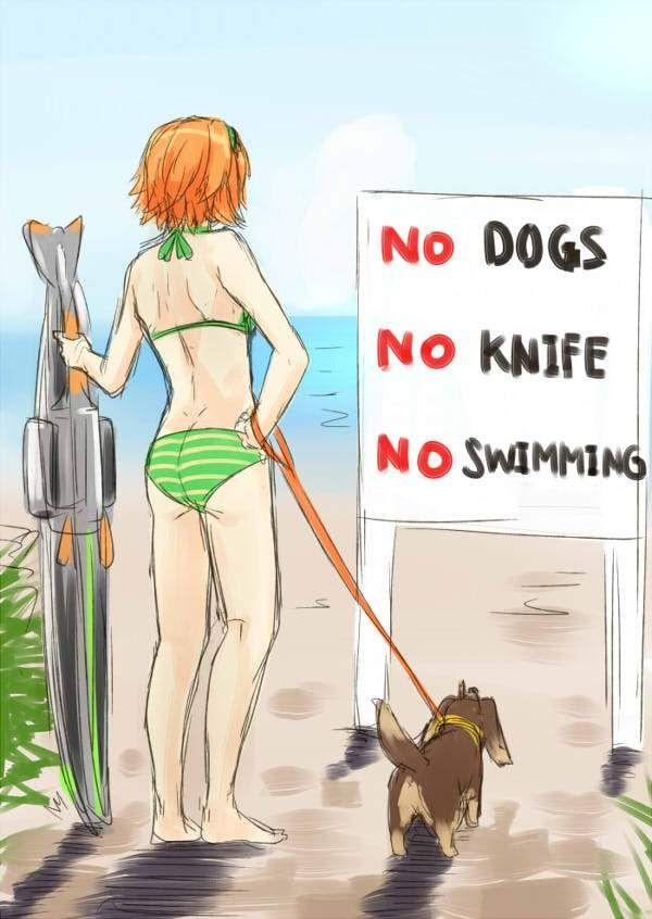 【犬ハサ】犬とハサミは使いようのエロ画像【24】