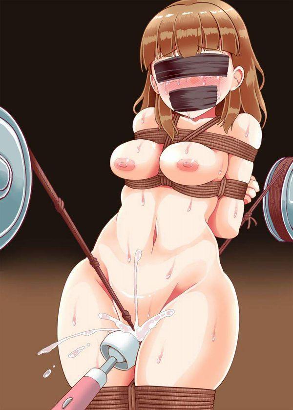 【日本では電マ】海外では「日立マジックワンド」の名称でお馴染みな性玩具でオナる女子達の二次エロ画像【5】