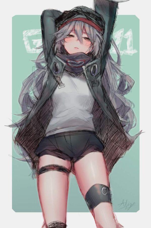 【ドールズフロントライン】G11(じーじゅういち)のエロ画像【少女戦線】【20】