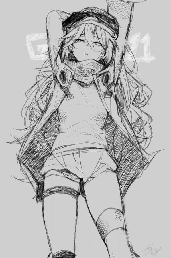 【ドールズフロントライン】G11(じーじゅういち)のエロ画像【少女戦線】【38】