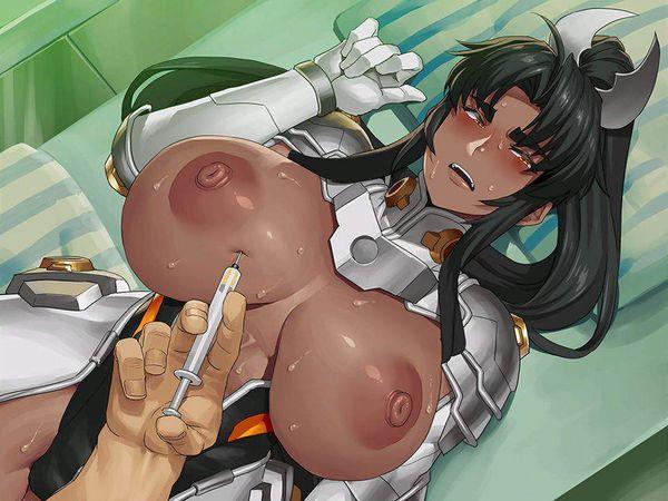 【痛そう】危険なおクスリを注射されてる女子達のエロ画像【37】