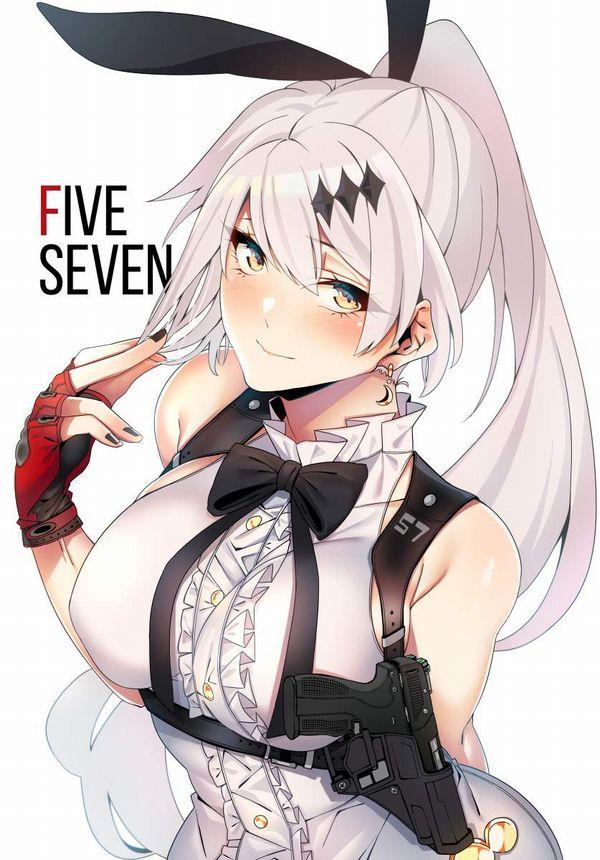 【ドールズフロントライン】Five-seveN(ふぁいぶせぶん)のエロ画像【少女戦線】【14】