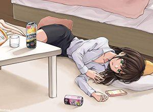 【ほぼ薬物】ストロングゼロ飲んでる女子達の二次画像