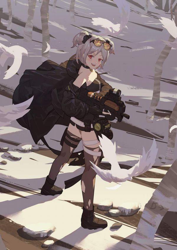 【ドールズフロントライン】P90(ぷろじぇくとないんてい)のエロ画像【少女戦線】【18】