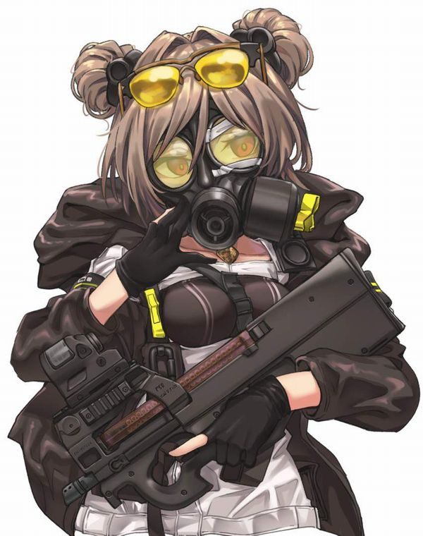 【ドールズフロントライン】P90(ぷろじぇくとないんてい)のエロ画像【少女戦線】【27】