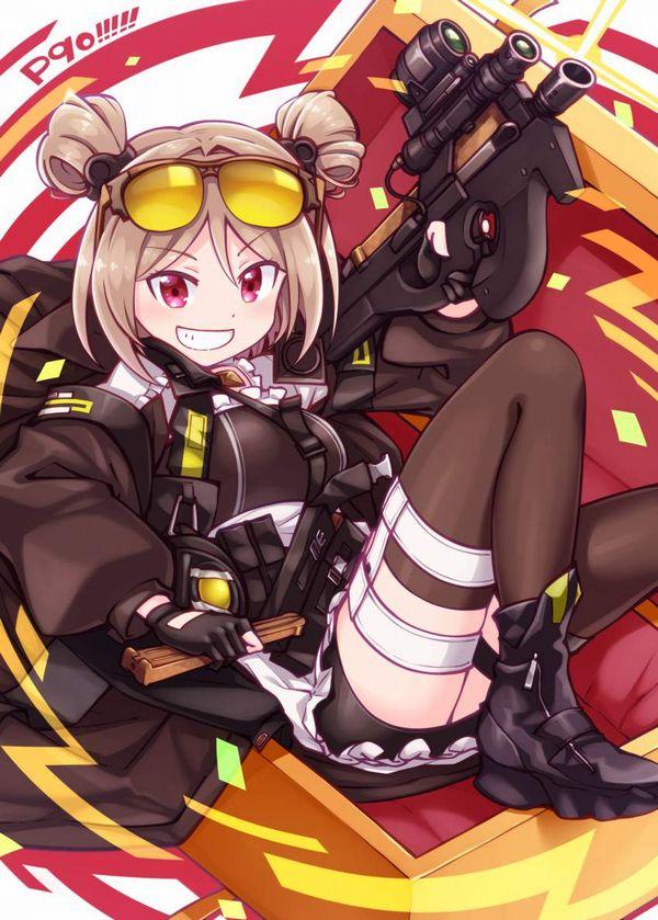 【ドールズフロントライン】P90(ぷろじぇくとないんてい)のエロ画像【少女戦線】【31】