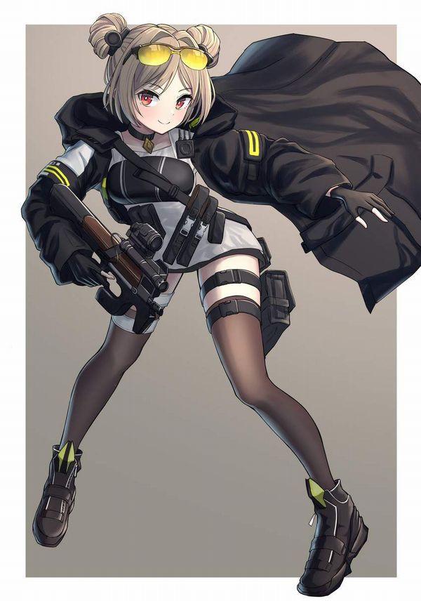 【ドールズフロントライン】P90(ぷろじぇくとないんてい)のエロ画像【少女戦線】【32】