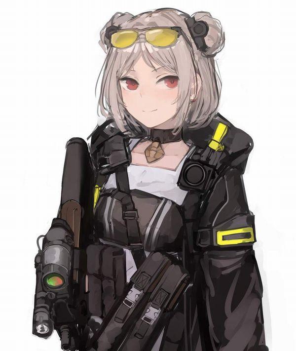 【ドールズフロントライン】P90(ぷろじぇくとないんてい)のエロ画像【少女戦線】【43】