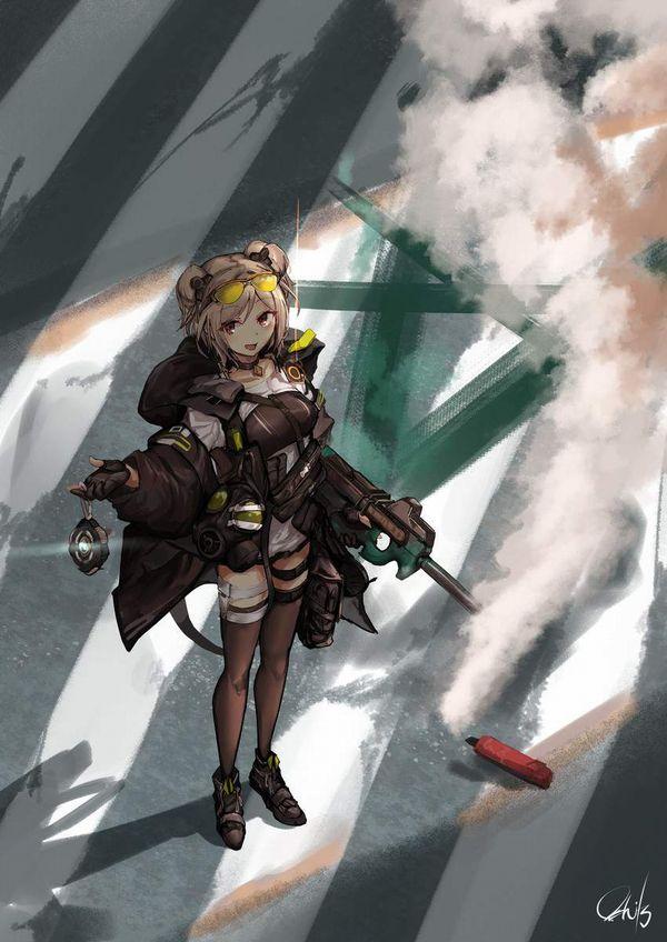 【ドールズフロントライン】P90(ぷろじぇくとないんてい)のエロ画像【少女戦線】【49】