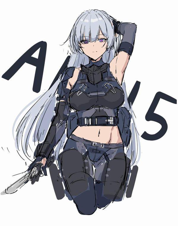 【ドールズフロントライン】AK-15(えーけーじゅうご)のエロ画像【少女戦線】【22】