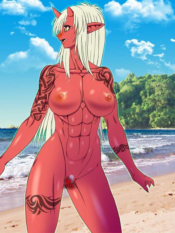 【ヌいた】赤鬼娘の二次エロ画像【9】