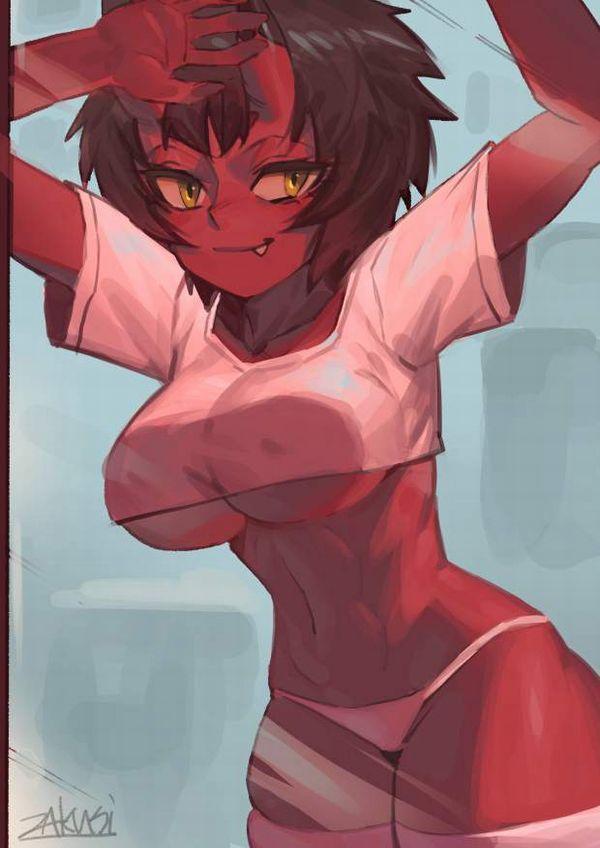 【ヌいた】赤鬼娘の二次エロ画像【20】