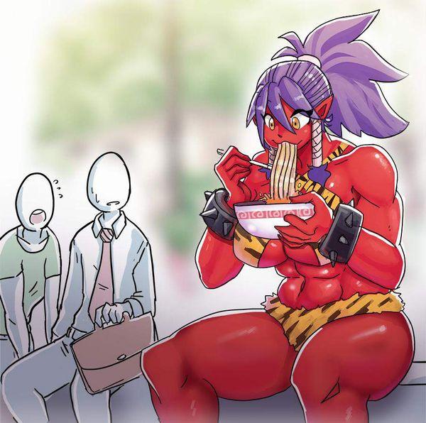 【ヌいた】赤鬼娘の二次エロ画像【32】