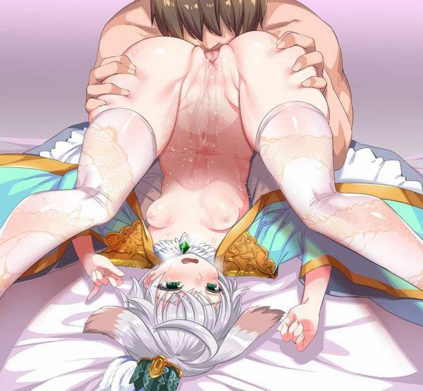 【9月2日はクンニの日】女性器を舐めてる二次エロ画像【29】