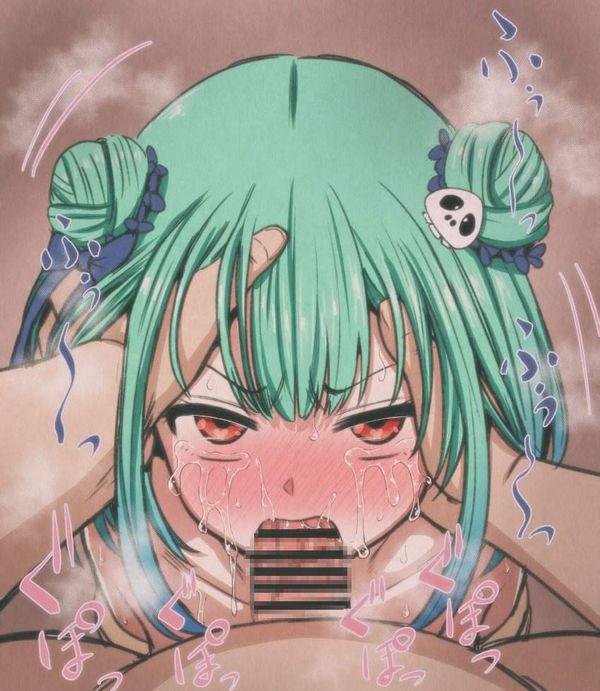 【PTSD不可避】泣きながらチンポしゃぶらされてる悲惨な女子達の二次エロ画像【28】