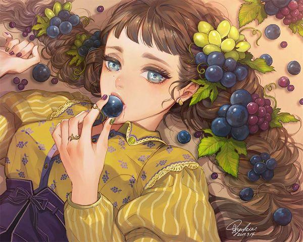 【幻のグレープだ!】ブドウと女子の二次エロ画像【28】