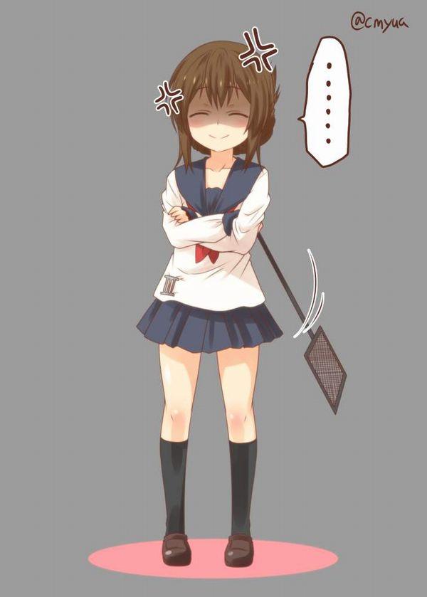 【竹中直人!?】笑いながら怒る女子の二次エロ画像【12】