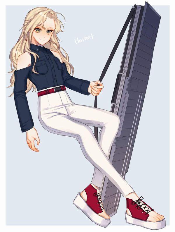 【艦これ】Hornet(ホーネット)のエロ画像【艦隊これくしょん】【32】