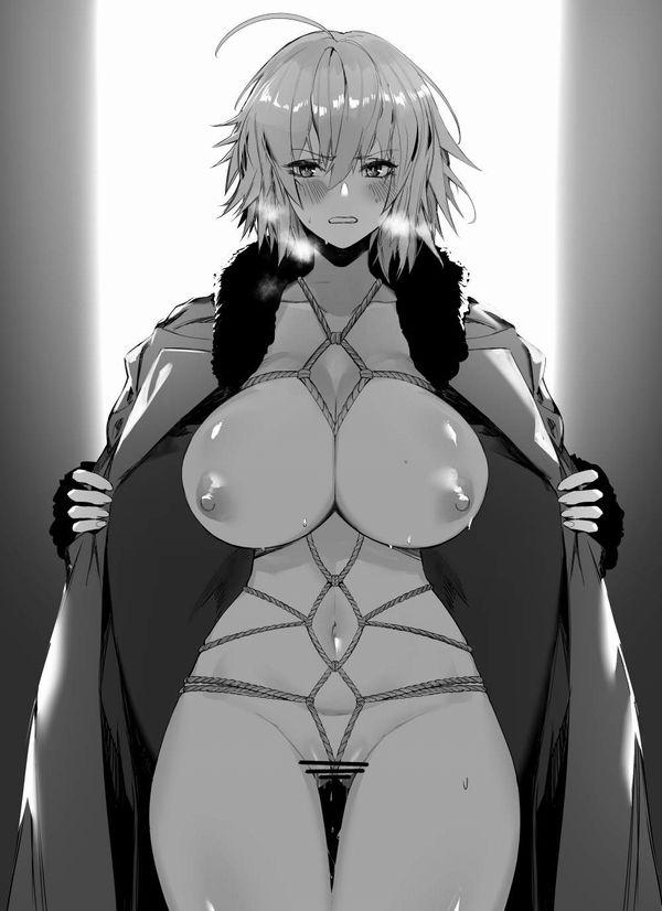 【種明かし】「実は洋服の下はこんな事になってました!」みたいな二次エロ画像【15】