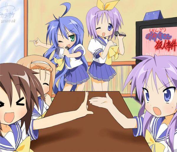 【放課後の定番】カラオケを楽しむ女子高生達の二次画像【6】