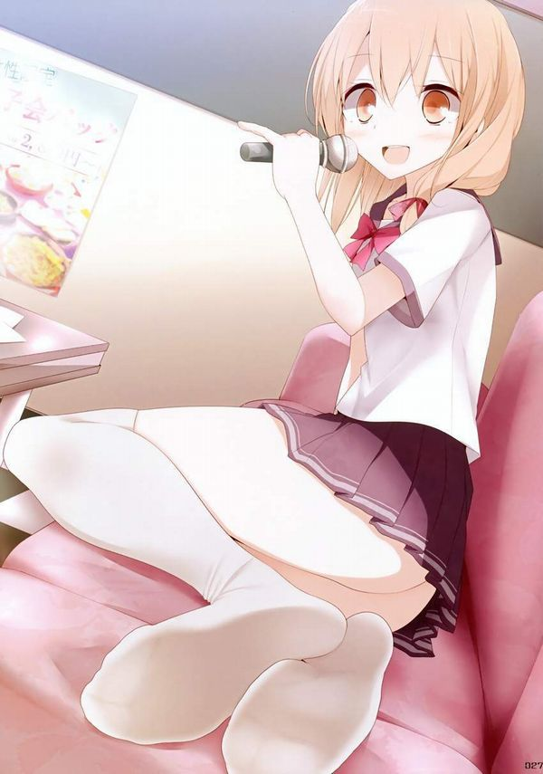 【放課後の定番】カラオケを楽しむ女子高生達の二次画像【20】