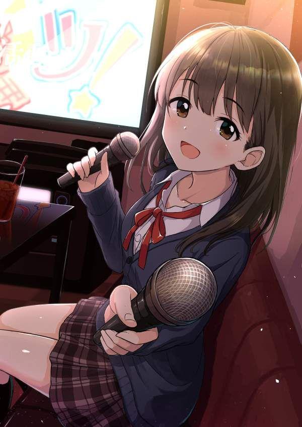 【放課後の定番】カラオケを楽しむ女子高生達の二次画像【33】