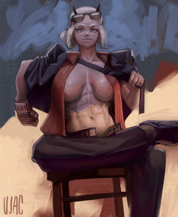 【Helltaker】ジャスティス(Justice)のエロ画像【ヘルテイカー】【4】