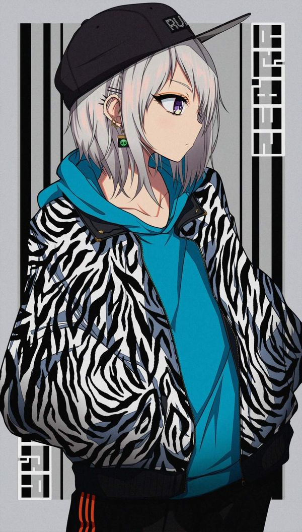 【悪そうな奴は】シマウマプリントの服着た女子達の二次エロ画像【大体友達】【29】