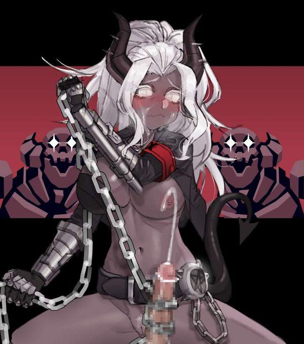 【Helltaker】ジャッジメント(Judgement)のエロ画像【ヘルテイカー】【3】