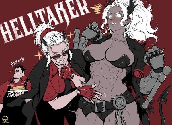 【Helltaker】ジャッジメント(Judgement)のエロ画像【ヘルテイカー】【47】