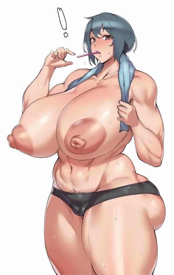 【ドラ焼きサイズ】巨乳輪女子達の二次エロ画像【9】
