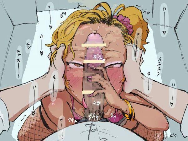 【風俗嬢が嫌な客の特徴】チンカスフェラの二次エロ画像【34】