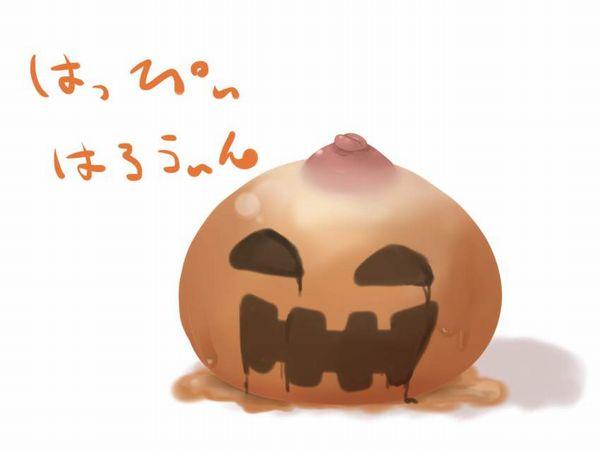 【ハッピーハロウィン】カボチャとおっぱいの二次エロ画像【40】