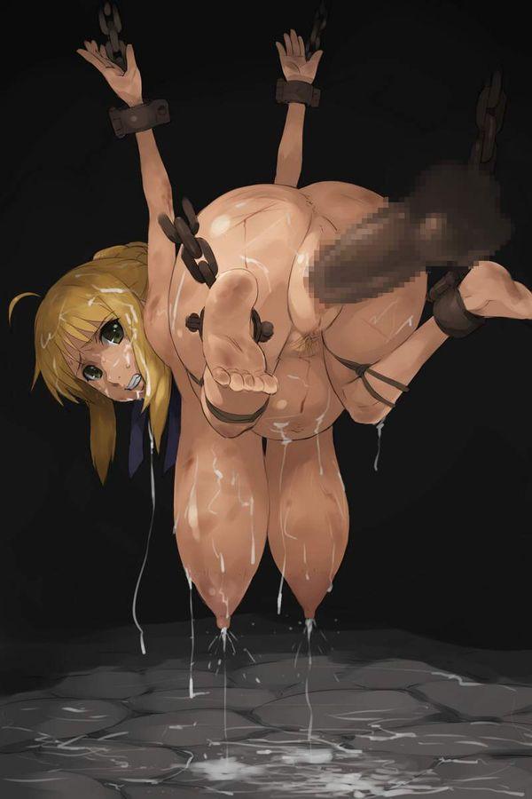 【恐い】全身傷や痣だらけな妊婦の二次エロ画像【1】