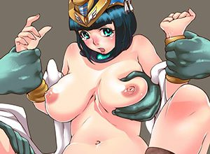 【クイーンズブレイド】古代の王女メナスのエロ画像