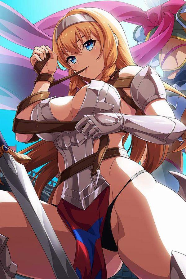 【クイーンズブレイド】流浪の戦士レイナのエロ画像【30】