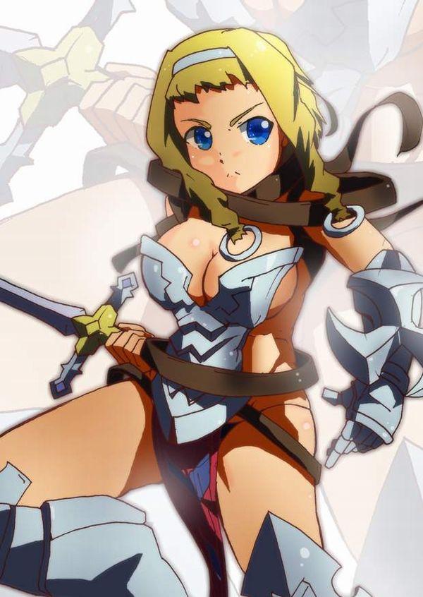 【クイーンズブレイド】流浪の戦士レイナのエロ画像【45】
