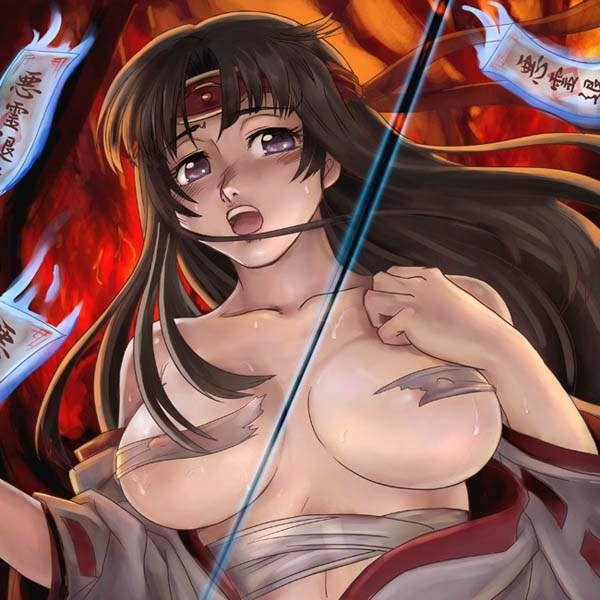 【クイーンズブレイド】武者巫女トモエのエロ画像【7】