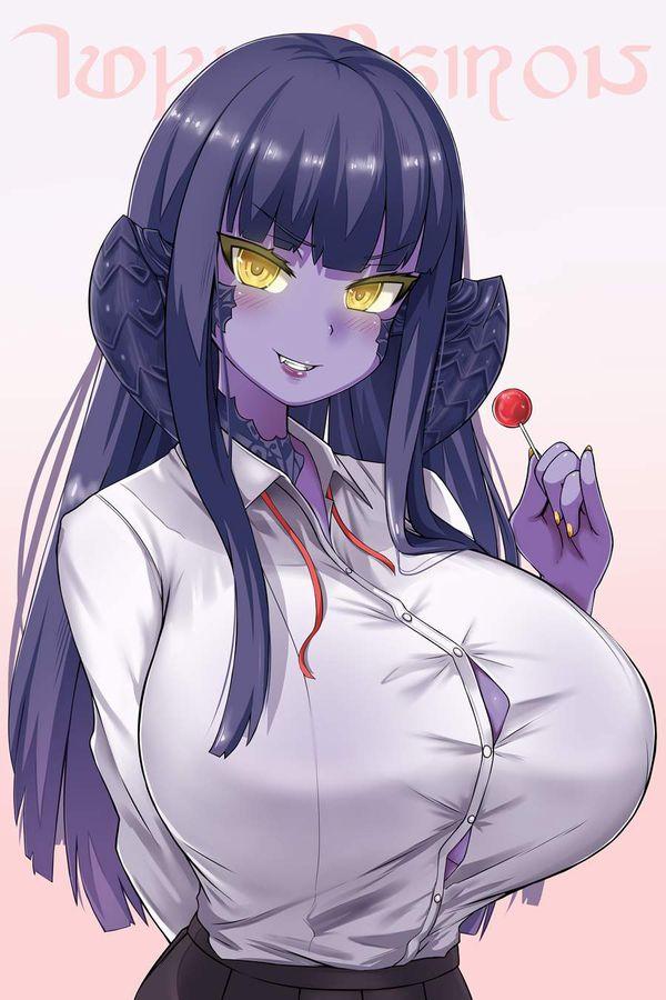 【時限装置】ボタン弾けそうな爆乳ブラウス女子の二次エロ画像【25】