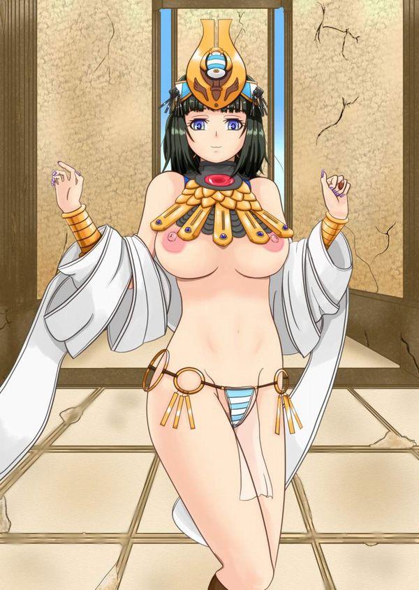 【クイーンズブレイド】古代の王女メナスのエロ画像【4】