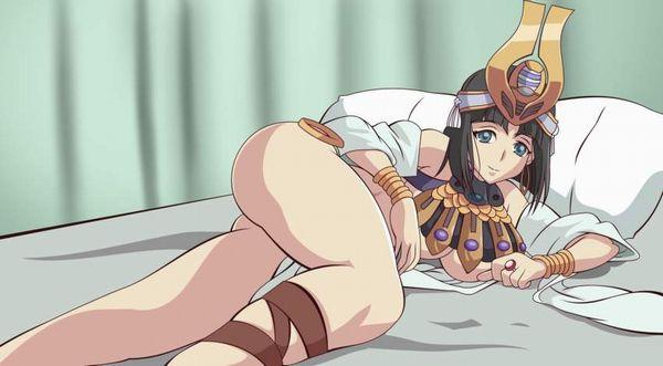 【クイーンズブレイド】古代の王女メナスのエロ画像【41】