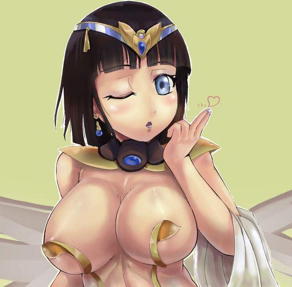 【クイーンズブレイド】古代の王女メナスのエロ画像【45】
