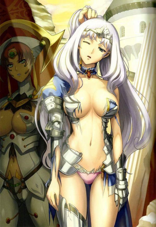 【クイーンズブレイドリベリオン】叛乱の騎士姫アンネロッテのエロ画像【2】