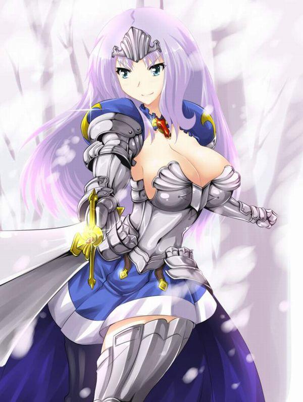 【クイーンズブレイドリベリオン】叛乱の騎士姫アンネロッテのエロ画像【13】