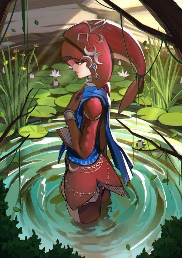 【ゼルダの伝説 ブレスオブザワイルド】ミファーのエロ画像【20】