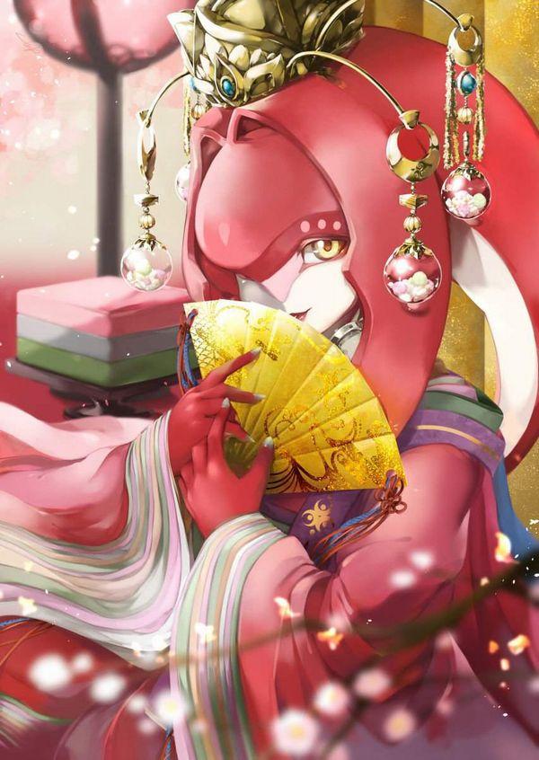 【ゼルダの伝説 ブレスオブザワイルド】ミファーのエロ画像【25】