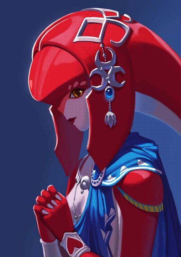 【ゼルダの伝説 ブレスオブザワイルド】ミファーのエロ画像【49】