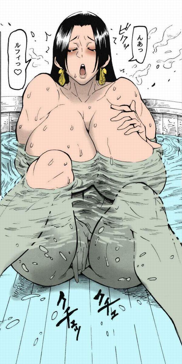 【湯船が潮の香りに】お風呂で温まりつつオナニーしてる二次エロ画像【18】